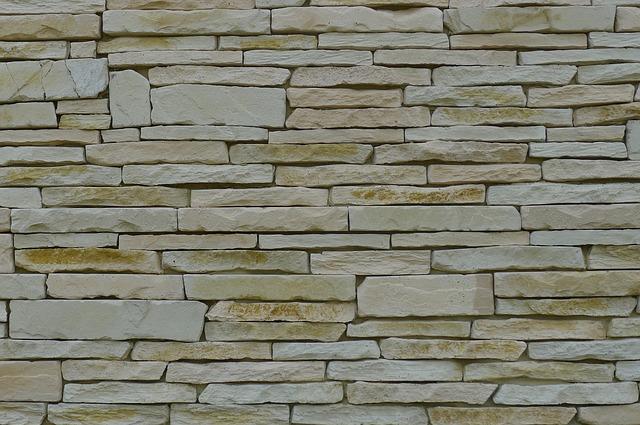 kameny, zeď