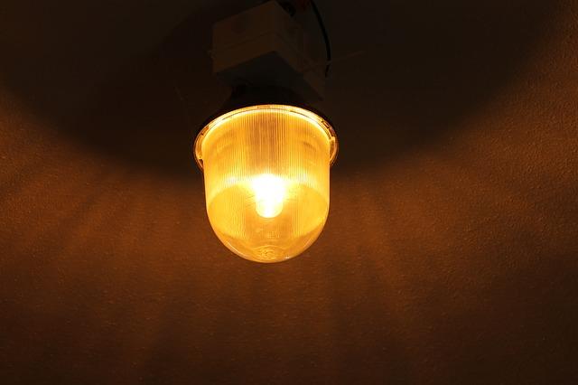 stropní halové světlo