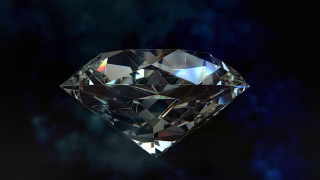 vzácný diamant