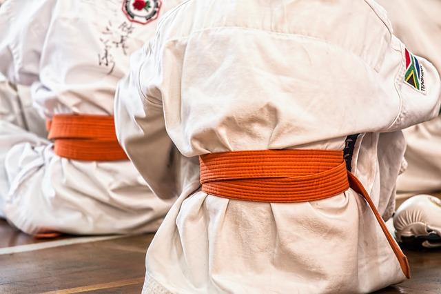 oblečení na karate