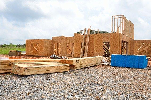 Dřevěný konstrukční rám